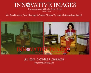 Flood Water Damaged Photo Picture Restoration in Houston
